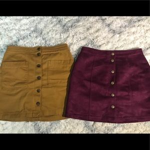 two vintage skirts from old navy